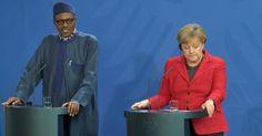 Nigerias Präsident Muhammadu Buhari will von seiner Frau nicht für die Politik seiner Regierung kritisiert werden. Seine Frau gehöre in die Küche und das Wohnzimmer, sagte er am Freitag nach einem Treffen mit Bundeskanzlerin Angela Merkel in Berlin.