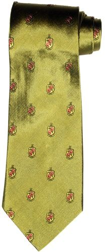 Delta Chi Classic Gold Silk Tie