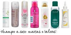 Oito opções de shampoo a seco disponíveis no mercado, com preços.