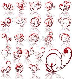 Abstract Tatoo by Jelena Zaric copyrighyrf what flow in the scrolls and flourishes Tatoo Art, Get A Tattoo, Small Tattoo, Filigree Design, Swirl Design, Abstract Tattoo Designs, Tattoo Abstract, Clip Art, Zentangle Patterns