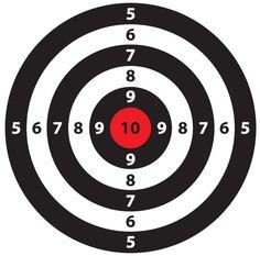 simple shoot target