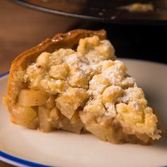 Crumble de Manzanas y Peras Delicious Desserts, Dessert Recipes, Yummy Food, Tasty, Apple Recipes, Sweet Recipes, Bon Dessert, Cooking Recipes, Healthy Recipes