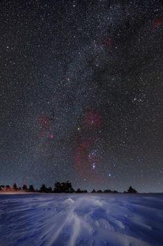 Mliečna dráha v zime II