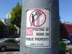 No posting