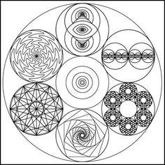 ☠☠☠™ #labyrinth ☠ #sacred #geometry
