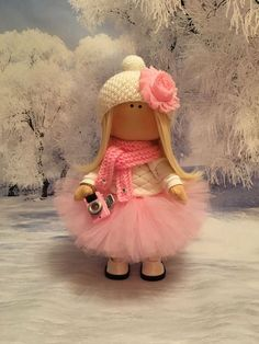 Куклы тыквоголовки ручной работы. Ярмарка Мастеров - ручная работа. Купить Интерьерная кукла. Handmade. Интерьерная кукла, фатин