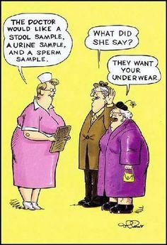 A little senior citizen humor.