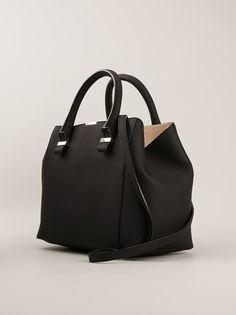 VICTORIA VICTORIA BECKHAM - Quincy tote bag - farfetch.com. my structured tote find?!