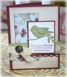 Love to Make Cards: Language of Friendship Week #1