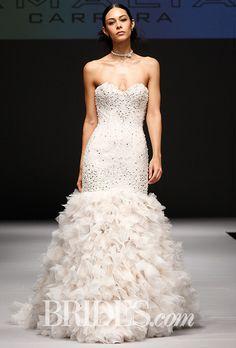 Brides: Eve of Milady Wedding Dresses - Fall 2016 - Bridal Runway Shows - Brides.com