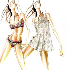 Fashion Illustration/Paul Keng