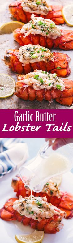 Garlic Butter Lobster Tails - how to make Lobster tail #HealthFoods