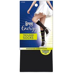 5910be5f008 L eggs Energy Collection Trouser Socks 2-Pack