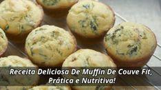 Receita Deliciosa De Muffin De Couve Fit Prática e Nutritiva