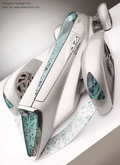 Mercedes-Benz BlitzenBenz concept car is a hi-tech futuristic beauty