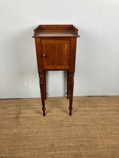 C19th Mahogany Night Stand - The Hoarde Antiques Online, Selling Antiques, Lifestyle Shop, Lamp Table, Bedside Tables, Night Stand, House Numbers, Retail Shop, Garden Furniture