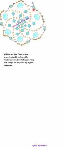 MATERIALE: 6 perle o sfaccettate 6 mm 1 perla 4 mm 12 sfaccettate 4 mm 12 biconi 4 mm 6 biconi 3 mm rocailles filo a...
