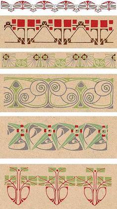 Art Nouveau Ornament. Обсуждение на LiveInternet - Российский Сервис Онлайн-Дневников