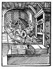 Wynalezienie druku przez Jana Gutenberga w 1453 roku pozwoliło na skrócenie czasu przeznaczonego na kopiowanie pisma. Chociaż książka nadal była bardzo droga, to stała się już towarem dostępniejszym niż w średniowieczu.