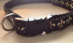 Fleur De Lis Pet Collar by PawsForThoughtS on Etsy, $6.00