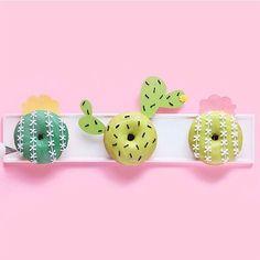 Cactus donuts / Beignes en cactus