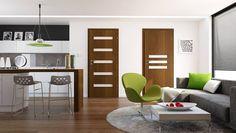 Foliované dveře IBIZA-AMBER    Základní model dveří za příznivou cenu, který nabízí nespočet variant a trendy dekorů. Samozřejmostí je dřevěný rám.  Cena od 1 330 Kč | KOMPLET (obložka + dveře + klika) od 4 135 Kč Outdoor Furniture Sets, Outdoor Decor, Ibiza, Divider, Amber, Trendy, Home Decor, Decoration Home, Room Decor