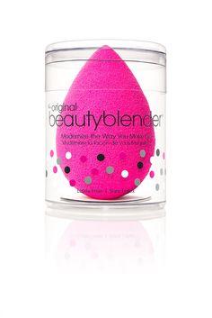 beautyblender® original single sponge makeup applicator - 1 pink beautyblender in mini canister