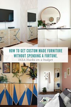 Find original, fun and simple ideas for IKEA hacks. Affordable on a budget tutorials and instructions for DIY projects. Rast, Ivar, Trones and more.