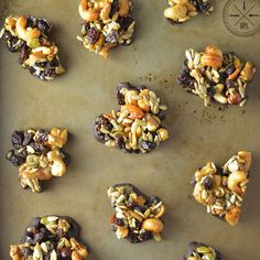 Crunchy clusters of honey-sweetened trail mix, dipped in a dairy- and soy-free chocolate. A delicious and guilt-free portable snack for everyone.