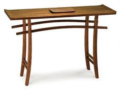 Japanese Torii Arch-Inspired Hall Table - Reader's Gallery - Fine Woodworking