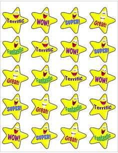 Teacher Created Resources Encouraging Stars Stickers 120 stickers per pack Each sticker is approximately 1 inch square Acid-free Reward Sticker Chart, Reward Stickers, Teacher Stickers, Craft Stickers, Star Stickers, Cute Stickers, Classroom Rules, Preschool Classroom, Classroom Labels