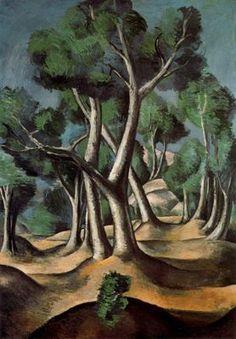 Ciudad de la pintura - DERAIN, André French Fauvist Painter and Sculptor (1880-1954)_Arboleda 1912.