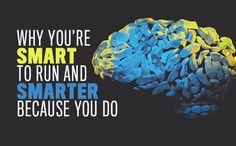 Running can actually make you smarter!