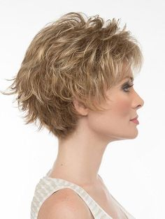 Short Shag Hairstyles for Women Over 50 Back Veiws Short Shag Hairstyles, Short Haircut Styles, Short Hairstyles For Women, Hairstyles With Bangs, Black Hairstyles, Pixie Haircuts, Layered Haircuts, Hairstyles Haircuts, Pretty Hairstyles