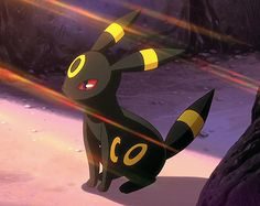 Umbreon! Cute! My fav eevieloution