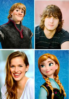 OUAT casts Anna and Kristoff! Personally I'm disappointed they are going to keep them in there.... I wanted the original evil snow queen! I love Frozen I just wanted a different direction closer to the original..