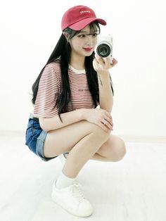Korean Daily Fashion- Cute Girly Look ...