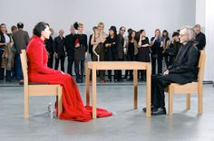 "2) Marina Abramovic, ""The Artist Is Present,"" 2010Who would have thought that an artist could get so much mileage out of a staring contest"