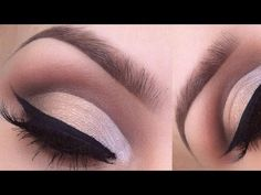 HOW TO: Cut crease eyeshadow tutorial - YouTube