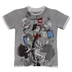 The Giant Peach - Dr Seuss - Cat in the Hat Juggling Kid's Tee