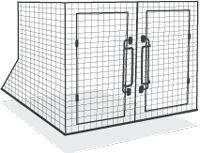 Stratford Dog Cage Dog Travel Cage, Pet Travel, Dog Transport, Dog Barrier, Airline Pet Carrier, Dog Cages, Crates, Pet Supplies, Pets