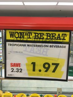 Beverages, Drinks, Grocery Store, Great Deals, Coffee Cans, No Frills, Watermelon, Canning, Drinking