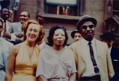 Thelonious Monk Left: with Marian McPartland Right & Marian with Mary Lou Williams