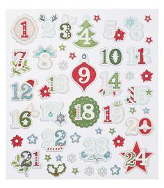 """Adventskalenderzahlen - Adventskalender Zahlen """"Weihnachten"""" - ein Designerstück von Creativ_umsEck bei DaWanda Diy Advent Calendar, Coloring Book Pages, Xmas, Christmas, Numbers, Scrap, Artsy, Bullet Journal, Printables"""