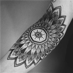 Mandala Tattoo - 40 Intricate Mandala Tattoo Designs  <3 <3