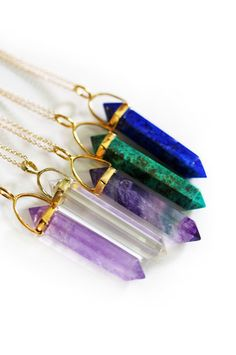 pencil point necklaces   kei jewelry