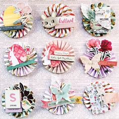 Project Ideas for Crate Paper - Chasing Dreams Collection - 12 x 12 Chipboard Stickers with Foil Accents Scrapbook Paper Crafts, Scrapbook Supplies, Scrapbook Cards, Scrapbook Layouts, Crate Paper, Candy Cards, Scrapbook Embellishments, Diy Paper, Homemade Cards