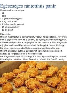 Healthy Recepies, Healthy Breakfast Recipes, Healthy Snacks, Healthy Eating, Hungarian Recipes, Kaja, Recipes From Heaven, Perfect Food, Diet Recipes
