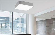 FORMA GREY Led Ceiling Lamp, Grey, Gray