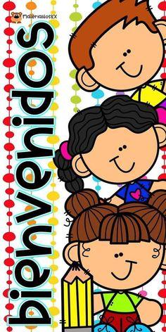 Spanish Classroom Activities, Teacher Tools, Teacher Resources, School Clipart, Pre Kindergarten, School Items, Teachers' Day, School Decorations, School Colors
